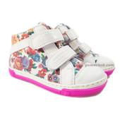 Renbut White Flowers (кожа) 26-30 размеры Ботинки для девочки