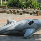 Плотик надувной Intex 58539 Дельфин