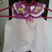 Літні платтячка Kidgets для найменших Розмір 0-3 міс, 3-6 міс, 6-9 міс