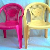 Стульчик пластиковый, Kinderway Тигренок (25-031), цвет Розовый