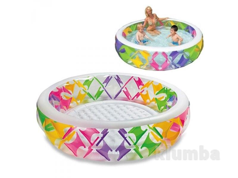 Детский надувной бассейн intex 56494 (229x56 см.) фото №1