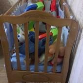 Кроватка+балдахин+защита