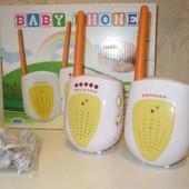 Радионяня Bambi 855 - передающий блок ребенка и приемный блок родителей