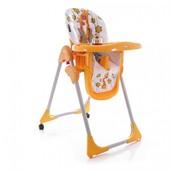 Стульчик для кормления детский, Bertoni Yam-Yam оrange Giraffes