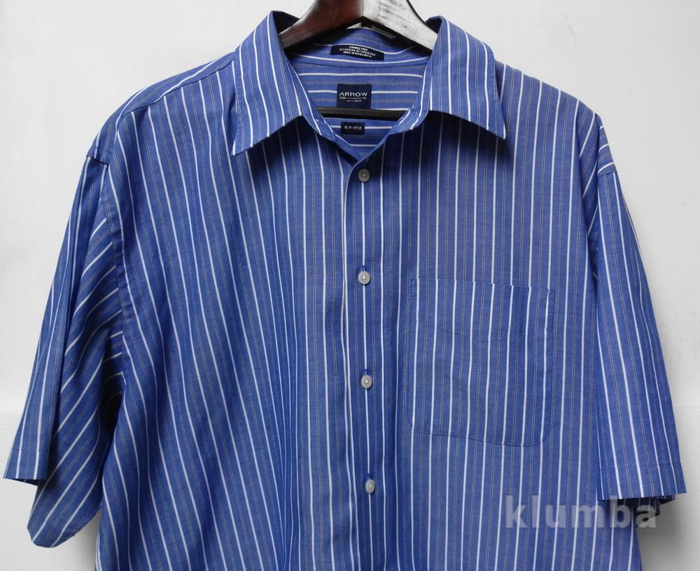 Брендовая рубашка Arrow USA-1851, большой размер. ворот 47 см фото №1