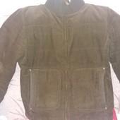 Куртка вельветовая коричневая в хорошем состоянии
