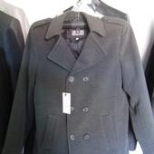 Пальто кашемировое, размер 46.