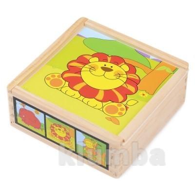 Набор кубиков «львенок», lelin артикул: 22-035 фото №1