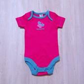 Новый яркий бодик для маленькой модницы. TU. Размер 0-3 месяца