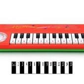 Яркое детское Пианино в коробке р.25х10 см. артикул 5678