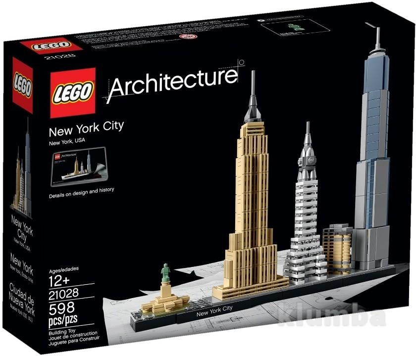 Lego architecture нью-йорк 21028 фото №1