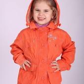 Куртка-ветровка демисезонная для девочки KIKO 86-104р.