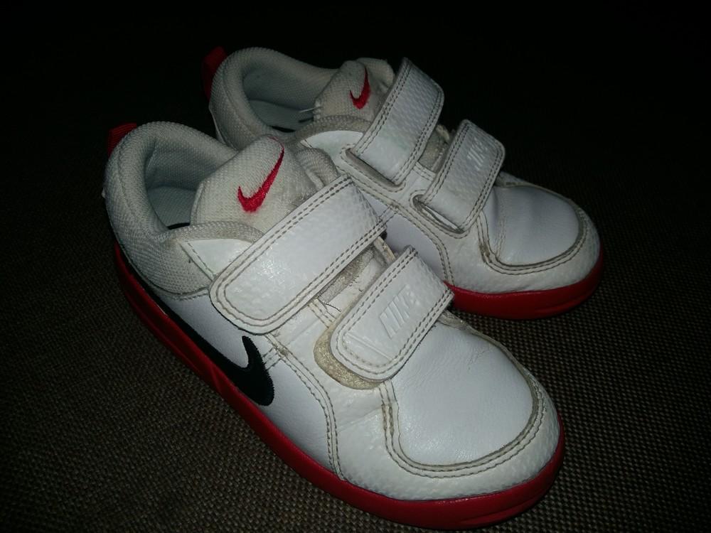 27-28 р.(18 см) adidas кожанные кроссовки - оригинал cambodia. идеальное состояние фото №1