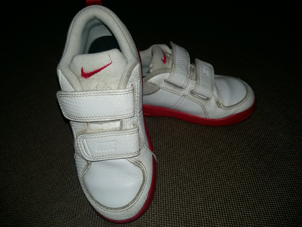 27-28 р.(18 см) adidas кожанные кроссовки - оригинал cambodia. идеальное состояние фото №3