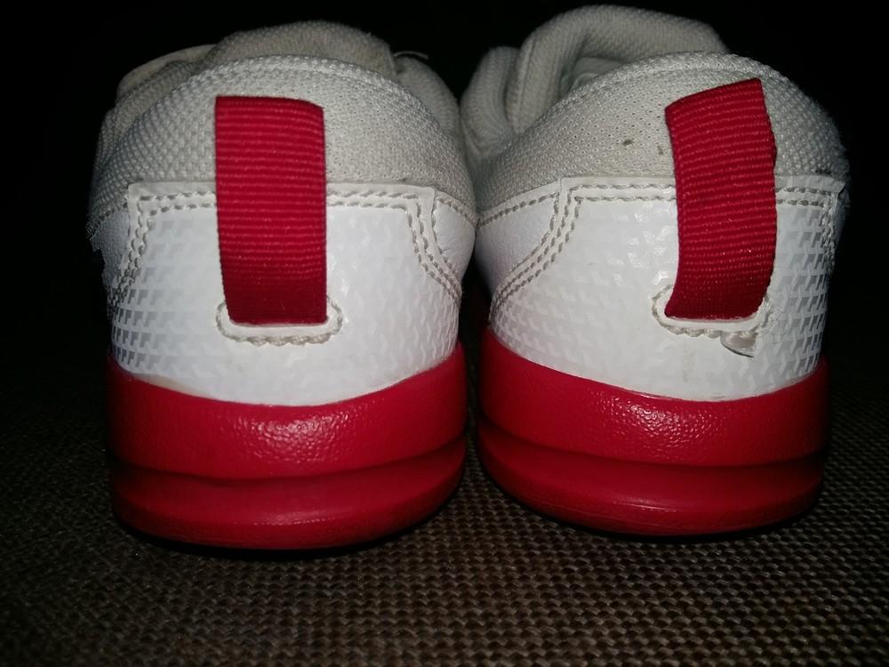 27-28 р.(18 см) adidas кожанные кроссовки - оригинал cambodia. идеальное состояние фото №4