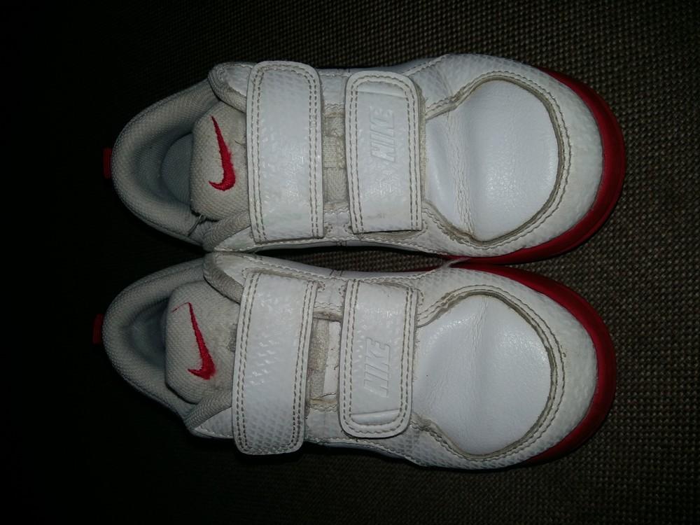 27-28 р.(18 см) adidas кожанные кроссовки - оригинал cambodia. идеальное состояние фото №8