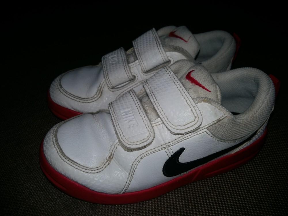 27-28 р.(18 см) adidas кожанные кроссовки - оригинал cambodia. идеальное состояние фото №9