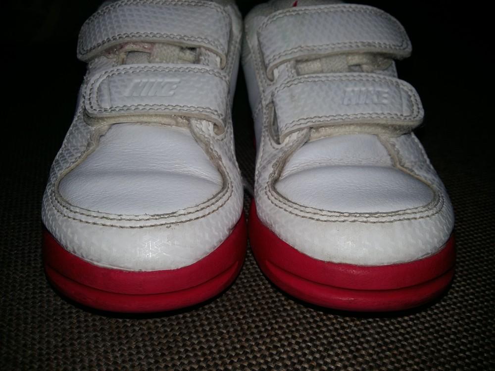27-28 р.(18 см) adidas кожанные кроссовки - оригинал cambodia. идеальное состояние фото №10