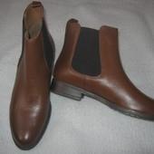 Ботинки новые кожаные Dune London 40размер 26см по стельке