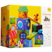 Джеко кубики из картона Кубанимо Djeco (DJ09102)