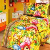 Детское постельное белье, Тропики, полуторное