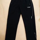 Спортивные батальные мужские брюки ровные из элластана