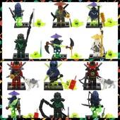 Ninja Minifigures Нинзяго минифигурки.