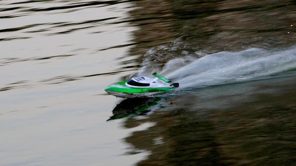 Катер fei lun ft009 high speed boat (зеленый) фото №1