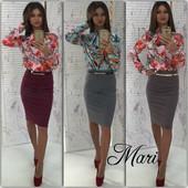 блузка и юбка женская