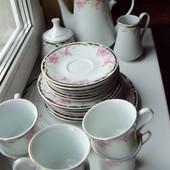 Китайский чайный кофейный сервиз на 6 персон.