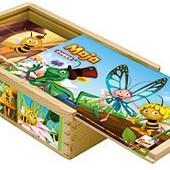 Кубики «Пчела Майя»-2, Bino Артикул: 13617