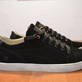 Мужские замшевые кроссовки Кед-03 черные фирмы ed-ge brothers