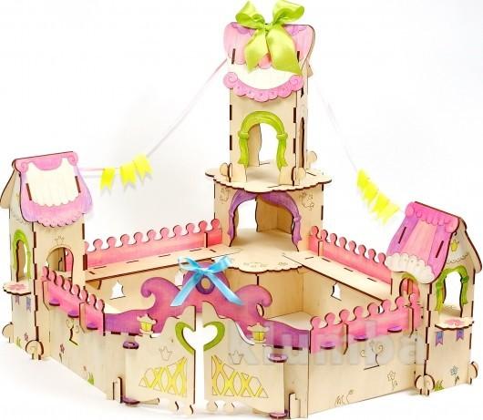Конструктор «дворец принцессы», woody артикул: b00808 фото №1