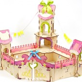 Конструктор «Дворец принцессы», Woody Артикул: B00808