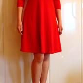 Новое яркое платье для девушки. Рукав три четверти. Esmara. Доступно в размерах: xs (6-8), s (10-12)