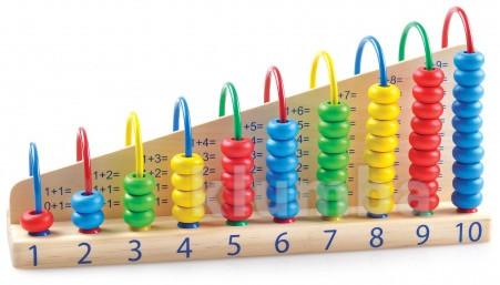 Арифметический счет, мир деревянных игрушек артикул: д013 фото №1