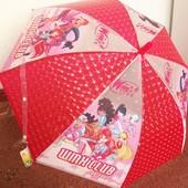 Детский зонт с героями м/ф, 4-10 лет