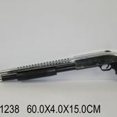 Ружье  игрушечное, стреляет пульками, в пакете. артикул 388 (811238)