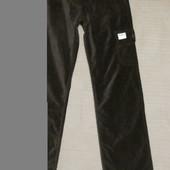 Фирменные брюки - карго шоколадного цвета. Pepe Jeans. London.29/32.