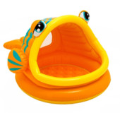 Бассейн надувной с навесом Intex «Рыбка» 57109