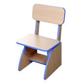Детский стульчик растущий синий. F45