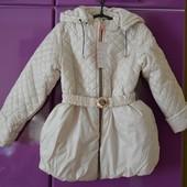 Курточка на весну демисезонная р. 110-128