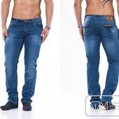 W1167 Красивые мужские джинсы 29-36рр