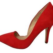 туфли замшевые 35-40р.