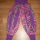 Летние штаны-алладины хлопок размер S-М