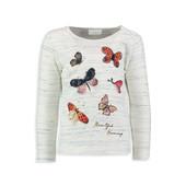 16-183 LCW 7-8 лет (рост 122-128) Детская кофточка / Кофта для девочки / футболка с длинным рукавом