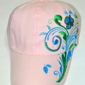 В Наличии Бейсболка  для девочки  Подросток-взрослый от 5 лет. р. 52-57.кепка панамка