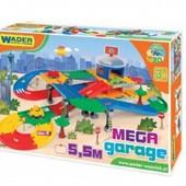 Игровой набор Гараж с дорогой 5, 5 м. Wader