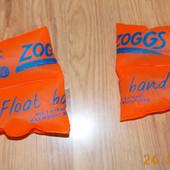 Фирменные нарукавники Zoggs для ребенка 3-6 лет, 25 кг