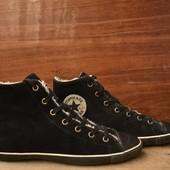 -Converse All Star -100% Original -made in Indonesia -натуральная замша -искуственный мех -размер 38